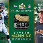 Peyton Manning Panini Eternal memorabilia card