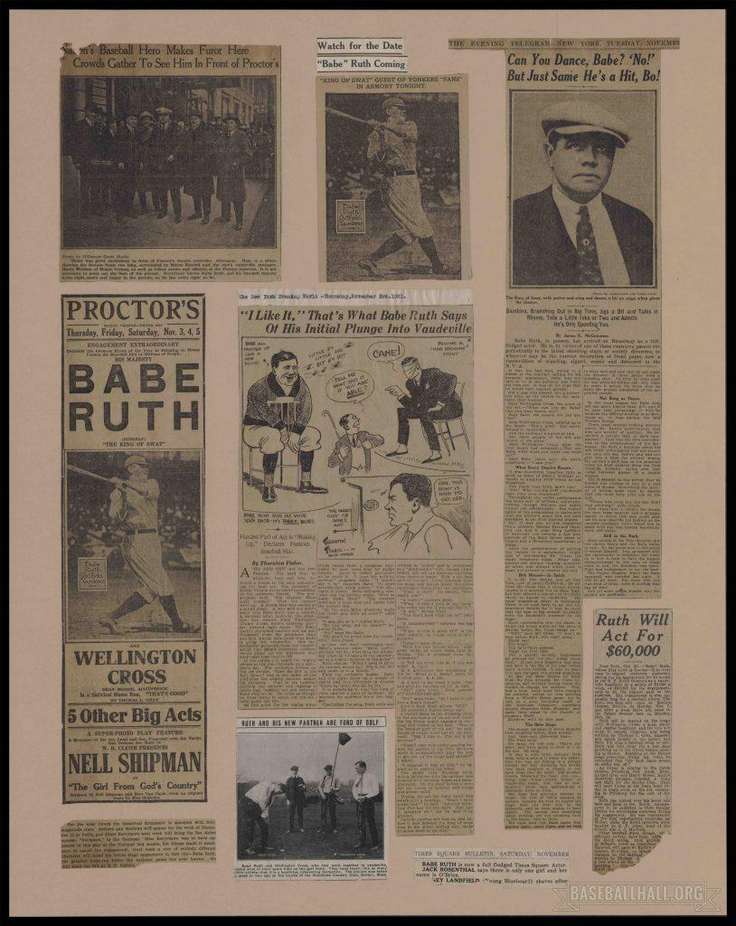 Scrapbook Babe Ruth