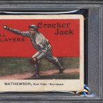 Christy Mathewson 1914 Cracker Jack
