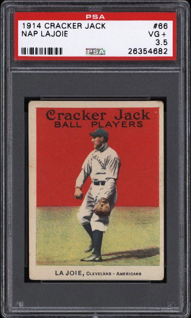 Cracker Jack Nap Lajoie 1914