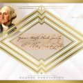 George Washington cut signature 2016 Topps Transcendent