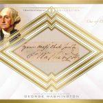 George Washington cut signature 2016 Topps Transcendent