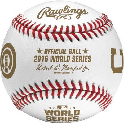 World Series 2016 commemorative baseball