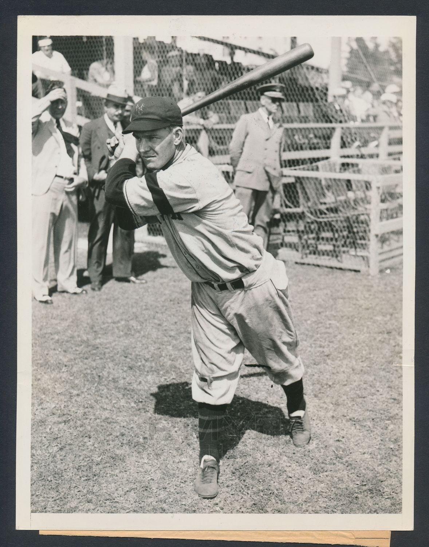 Mel Ott 1934 photo