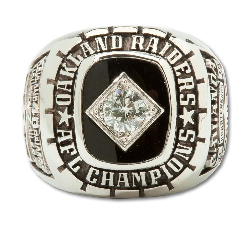 RAiders 1967 AFL Championship ring