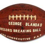 Game ball George Blanda