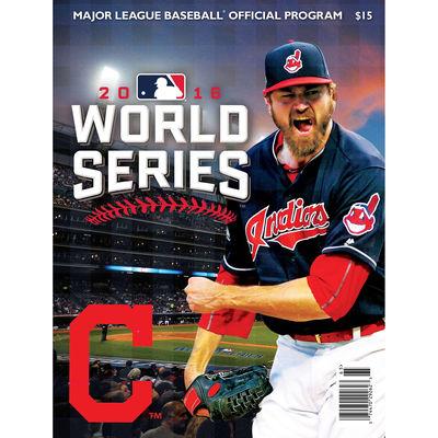 2016 World Series program Cleveland edition