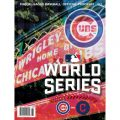 Cubs 2016 World Series program Wrigley Field