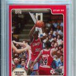 Michael Jordan Star Company rookie