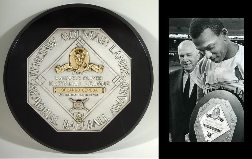 1967 MVP award Orlando Cepeda