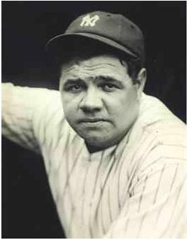 1927 Babe Ruth photo