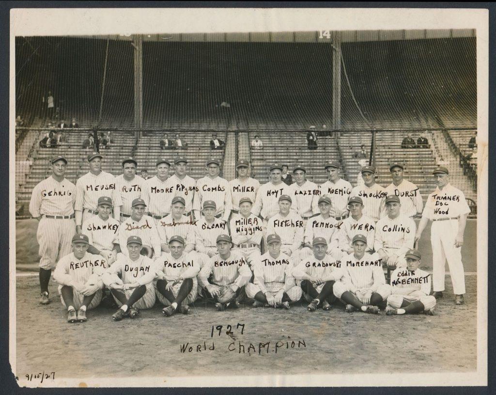 New York Yankees team photo