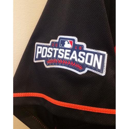 MLB post season jersey patch