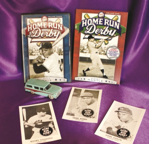 Home Run Derby DVD cards