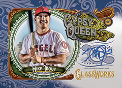 Mike Trout GQ Glassworks 2017 Topps