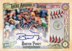 2017 Topps Gypsy Queen Laces League Posey