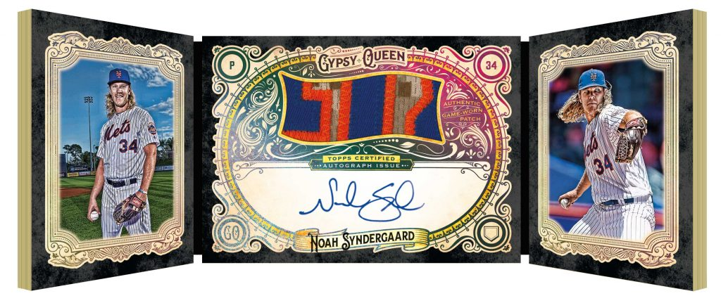 2017 Topps Gypsy Queen auto patch book