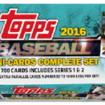 2016 Topps Mini Baseball set