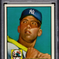 Mickey Mantle 1952 Topps PSA 8.5