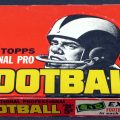 Topps 1962 football box