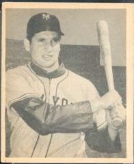Bobby Thomson rookie card 1948 Bowman