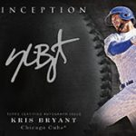 Silver Signings Kris Bryant 2017 Topps Inception