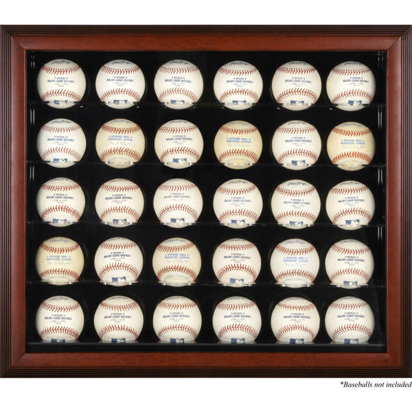 signed baseball display case collection