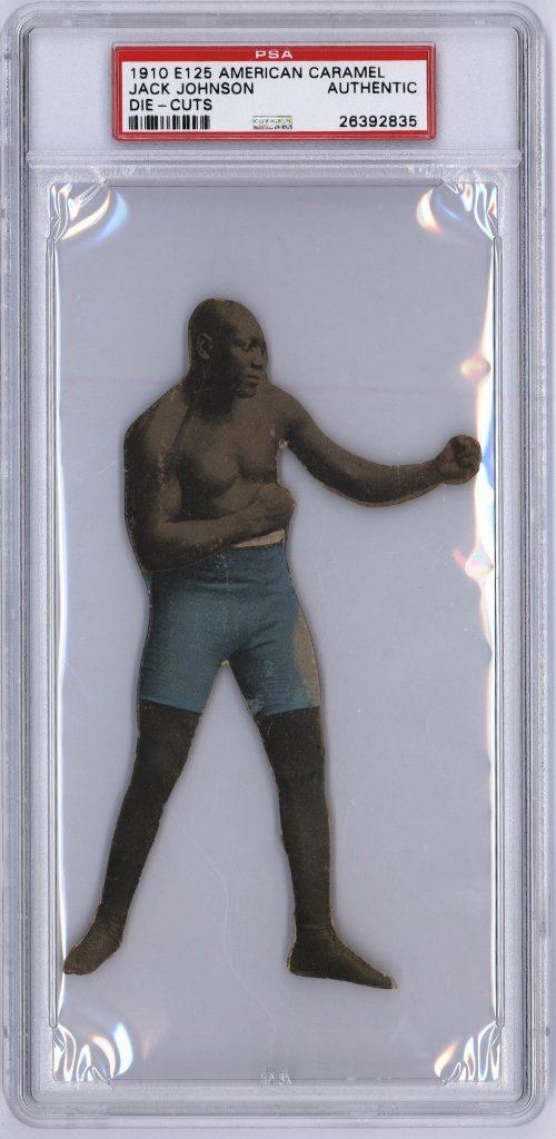 Jack Johnson E125 boxing card