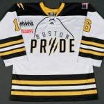 Boston Pride game jersey