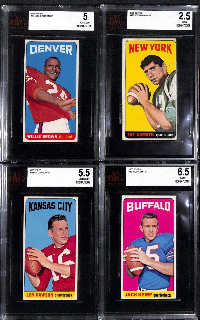 Topps 1965 football set