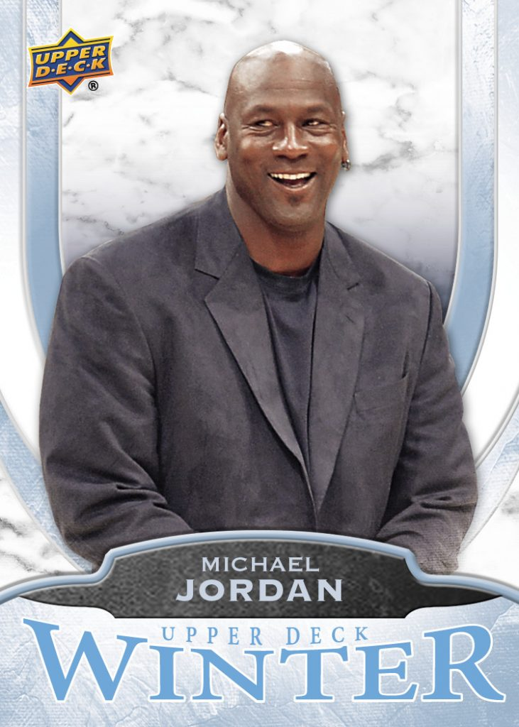 Michael Jordan Upper Deck Small Business Saturday