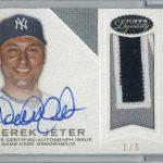 Derek Jeter autographed 2016 Topps Dynasty