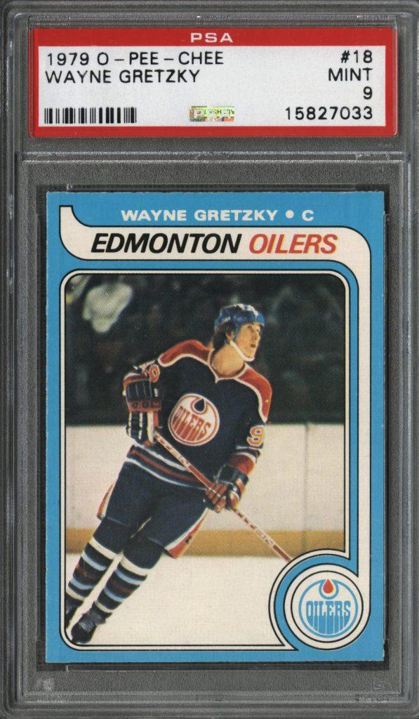 1979 OPC Gretzky rookie card PSA 9