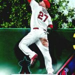 Mike Trout 2015 Topps Holiday