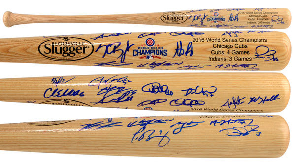 cubs-world-series-team-signed-bat