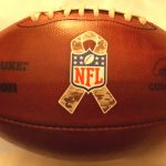 2016 NFL Salute to Service game-used football