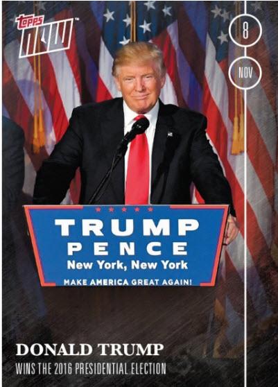 Donald Trump trading card 2016