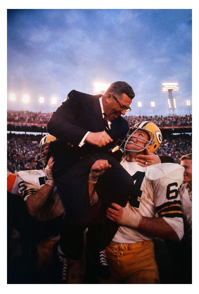 Packers Super Bowl II photo Vince Lombardi Neil Leifer