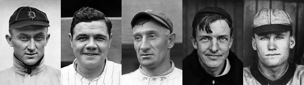 Baseball Hall of Fame first class 1936