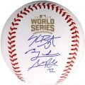 Cubs World Series team signed baseball