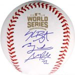 Cubs World Series team signed baseball