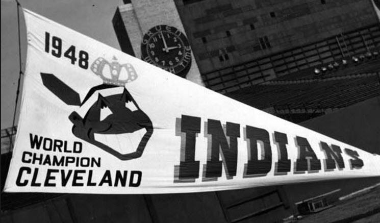 Cleveland Indians pennant 1948