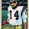 Dan Fouts 1976 Topps