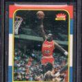 Michael Jordan Fleer rookie card