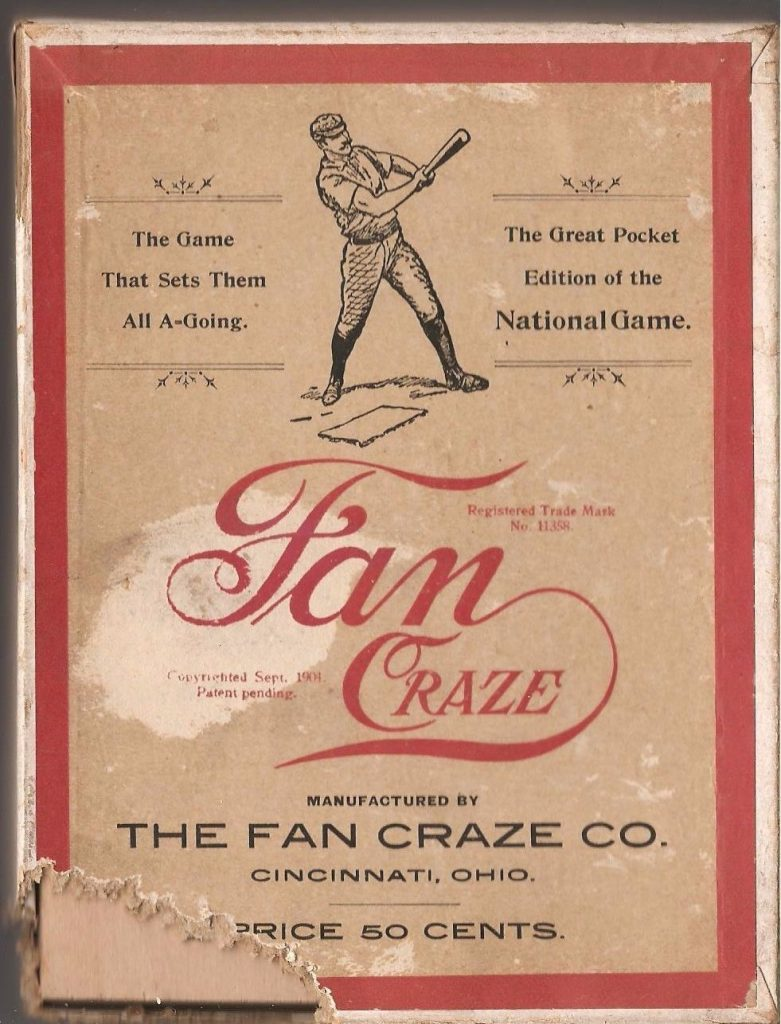 Fan Craze Game 1904