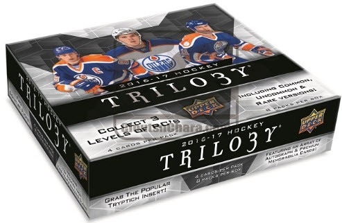 Upper Deck Trilogy Hockey box
