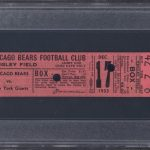1933 NFL Championship game ticket