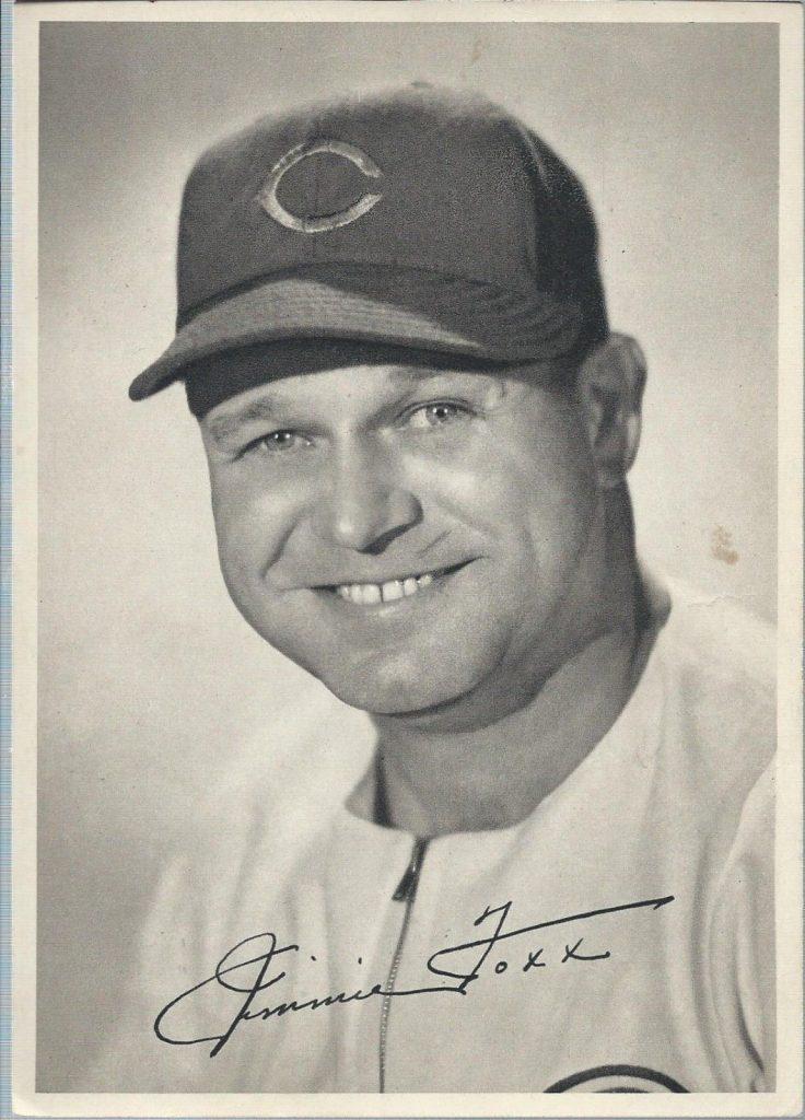 Jimmie Foxx 1941 Cubs team