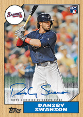 dansby_swanson_2017_topps_series2_rookie_auto