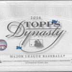 Topps Dynasty Baseball 2016